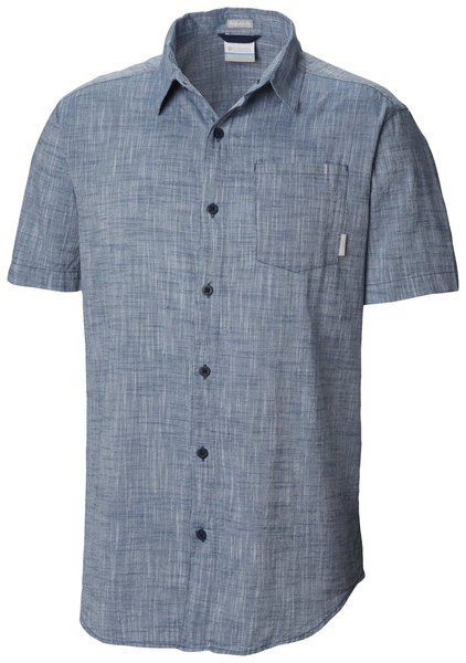 Columbia Under Exposure™ Yarn-Dye Short Sleeve Shirt - Men's